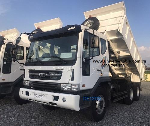 Xe ben 15 tấn Daewoo nhập khẩu 2020