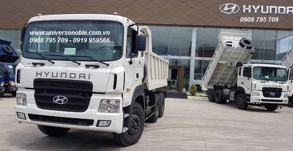 Xe ben 15 tấn Hyundai HD270 nhập khẩu 2020-2021