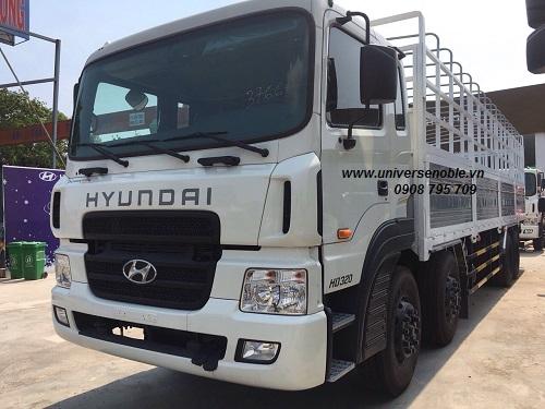Xe Tải hyundai 4 chân máy cơ ga điện HD 320 (380ps)