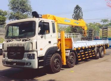 Xe tải Hyundai gắn cẩu Soosan từ 3 tấn đến 17 tấn
