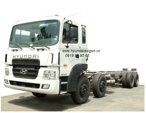 Xe tải Hyundai HD320 máy điện D6CA 380ps