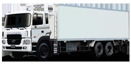 Xe tải hyundai thùng đông lạnh có phiếu thùng mới 2015
