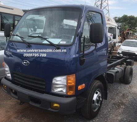 Xe tải New Mighty 110sp tải trọng 7 tấn Hyundai Thành Công lắp ráp
